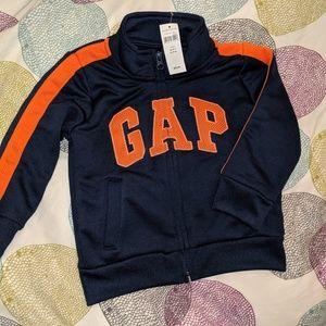 Baby GAP 3T zip up athletic jacket